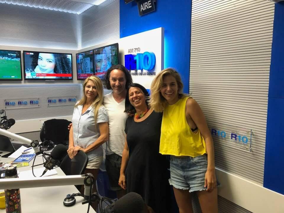 Andrea Churba en Radio 10 en el programa Viento a Favor con Facundo Jauregui conversando sobre el libro Lidera tu propio Cambio de Editorial Granica