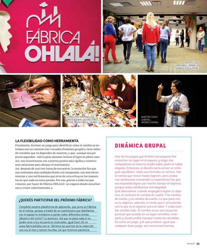 Fábrica Ohlalá con Andrea Churba