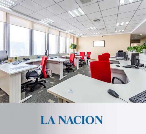 Columna de Andrea Churba en La Nacion - Vacaciones en la oficina