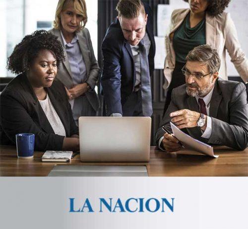 Terapia de Negocios de Andrea Churba en La Nacion, mi jeje me crítica en público
