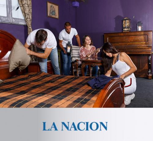 Columna de Andrea Churba en La Nacion, Juegos de Escape. La dinámica que muestra cómo son realmente las personas.