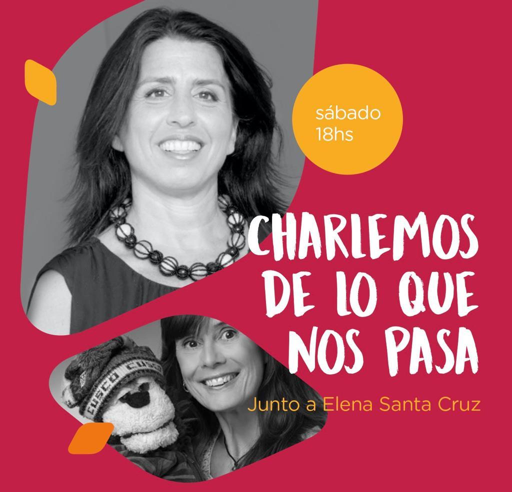 Andrea Churba con Elena Santa Cruz - Facebook Live - Charlemos de lo que nos pasa